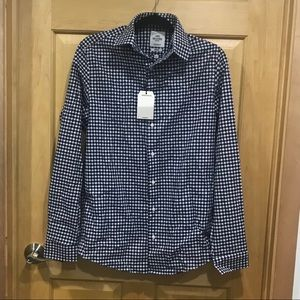 Ben Sherman  gingham button down shirt NEW